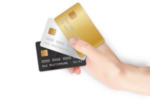 Wir akzeptieren Bargeld, Kreditkarten und EC-Karten